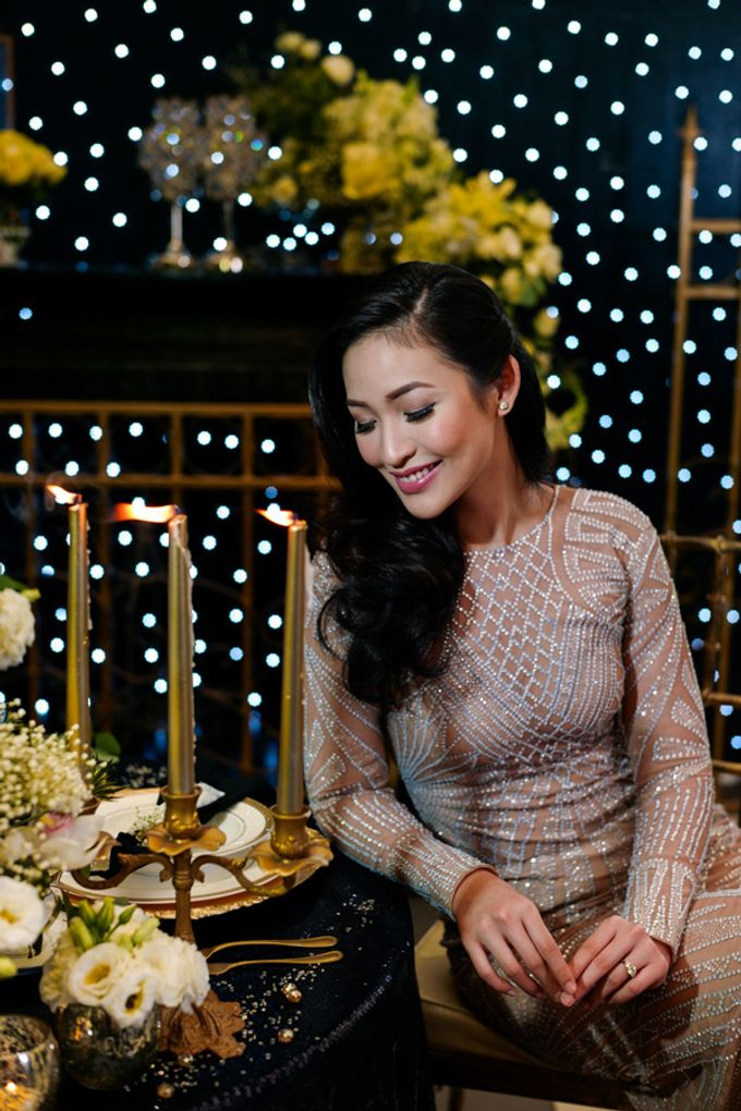 Stargazer Wedding with Bride & Breakfast by Mesclun Events Catering + Styling  - 001