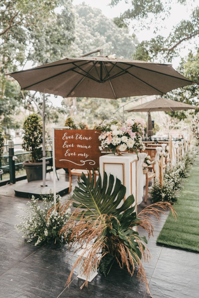 The Wedding of Stephan & Gabby by Elior Design - 001