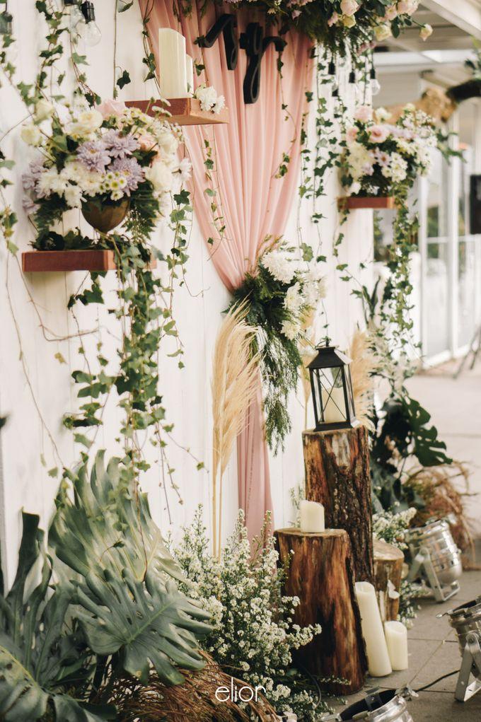 The Wedding of Stephan & Gabby by Elior Design - 014
