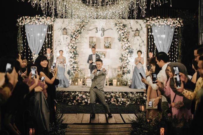The Wedding of Stephan & Gabby by Elior Design - 016