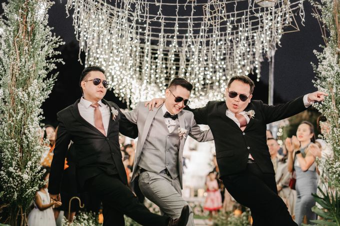 The Wedding of Stephan & Gabby by Elior Design - 006