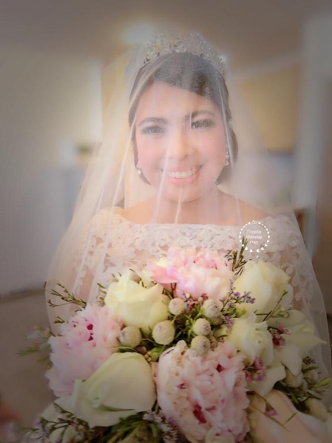 Indonesian RS | Royal Wedding church by Stephy Ng Makeup and Hair - 004