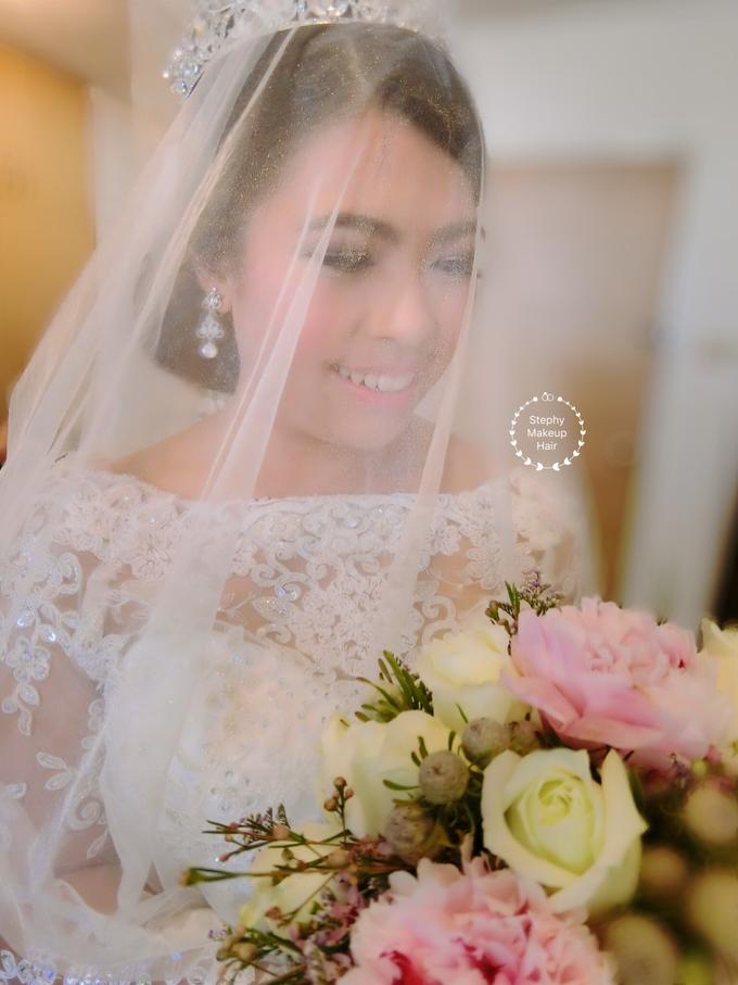 Indonesian RS | Royal Wedding church by Stephy Ng Makeup and Hair - 002
