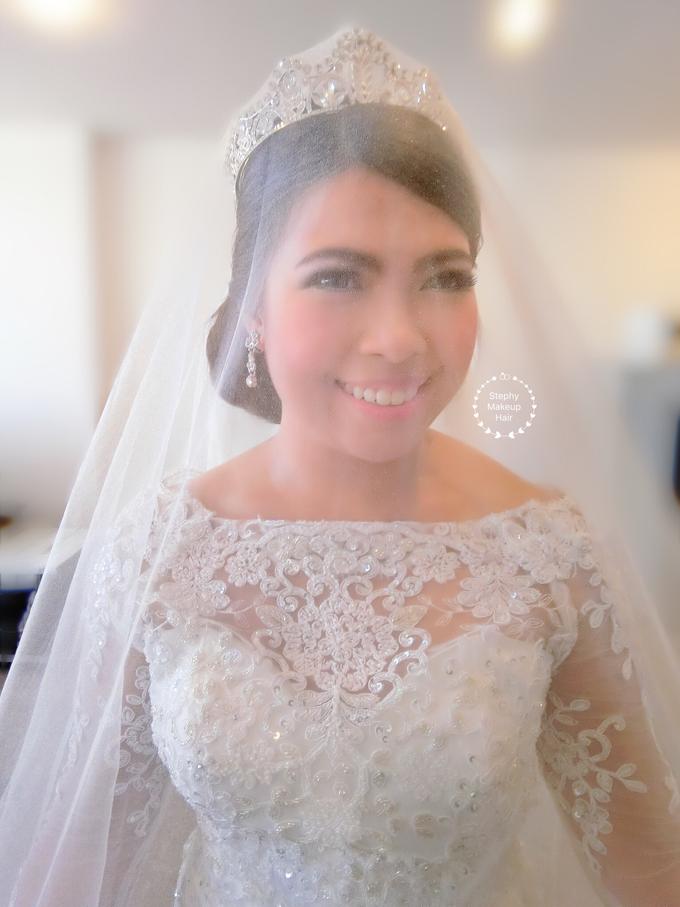 Indonesian RS | Royal Wedding church by Stephy Ng Makeup and Hair - 003