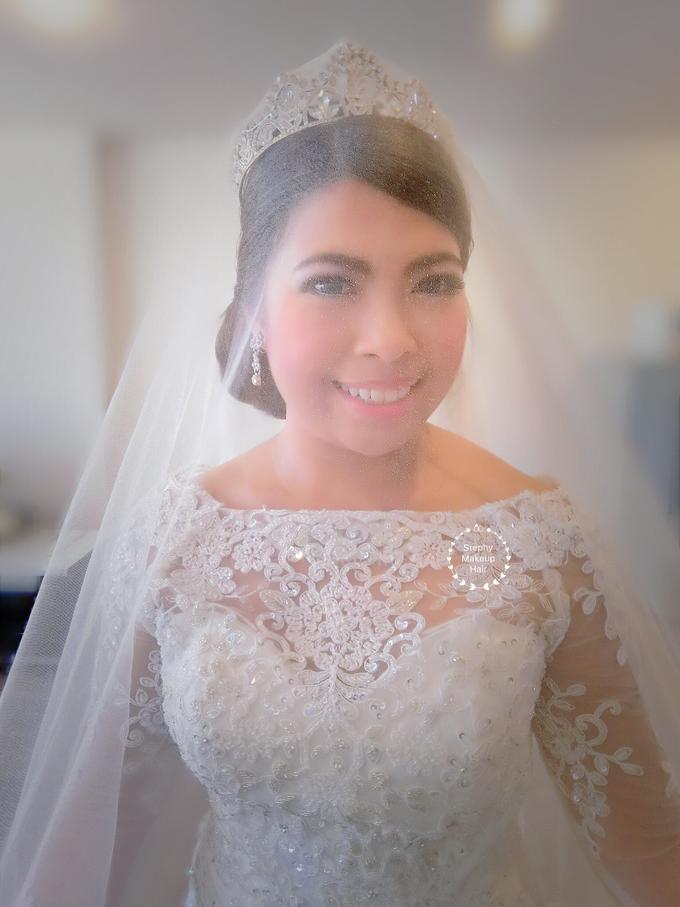 Indonesian RS | Royal Wedding church by Stephy Ng Makeup and Hair - 005