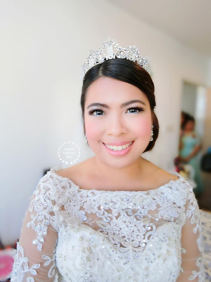 Indonesian RS | Royal Wedding church by Stephy Ng Makeup and Hair - 007