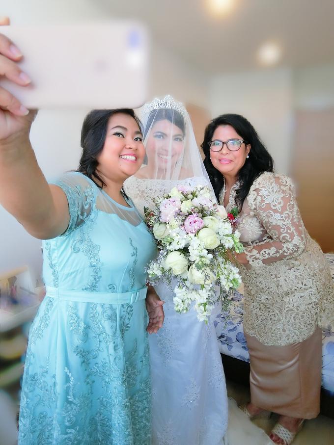 Indonesian RS | Royal Wedding church by Stephy Ng Makeup and Hair - 008