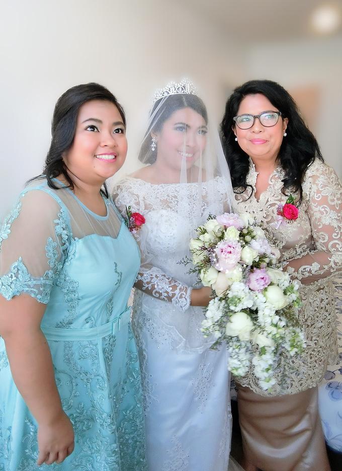 Indonesian RS | Royal Wedding church by Stephy Ng Makeup and Hair - 009