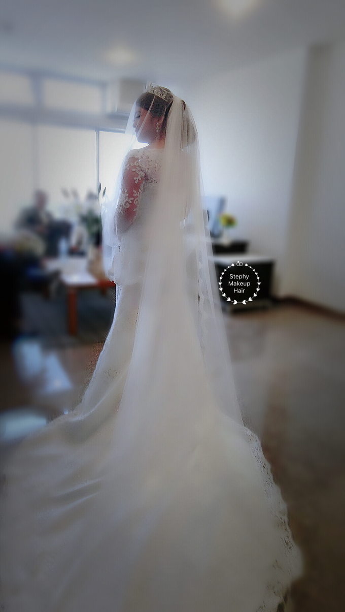 Indonesian RS | Royal Wedding church by Stephy Ng Makeup and Hair - 015