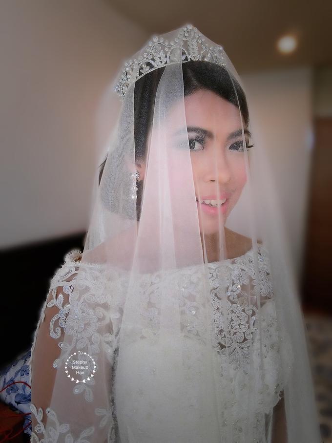 Indonesian RS | Royal Wedding church by Stephy Ng Makeup and Hair - 016