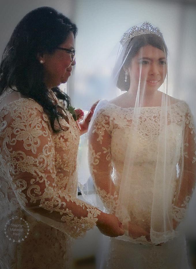 Indonesian RS | Royal Wedding church by Stephy Ng Makeup and Hair - 011
