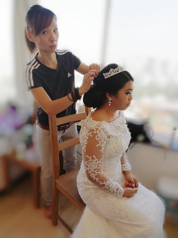 Indonesian RS | Royal Wedding church by Stephy Ng Makeup and Hair - 023