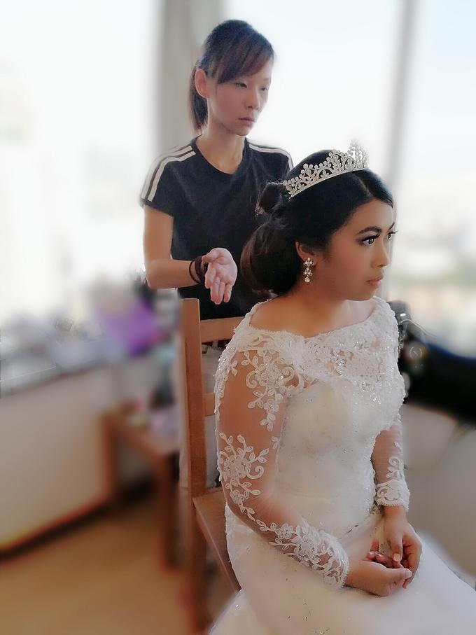 Indonesian RS | Royal Wedding church by Stephy Ng Makeup and Hair - 022