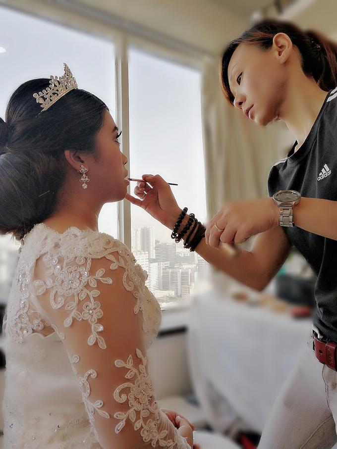 Indonesian RS | Royal Wedding church by Stephy Ng Makeup and Hair - 020