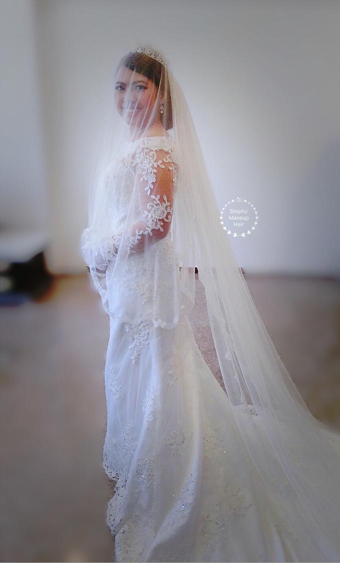 Indonesian RS | Royal Wedding church by Stephy Ng Makeup and Hair - 018