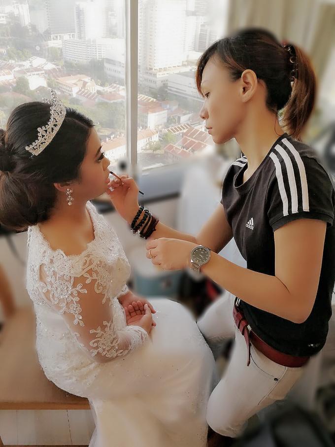Indonesian RS | Royal Wedding church by Stephy Ng Makeup and Hair - 021