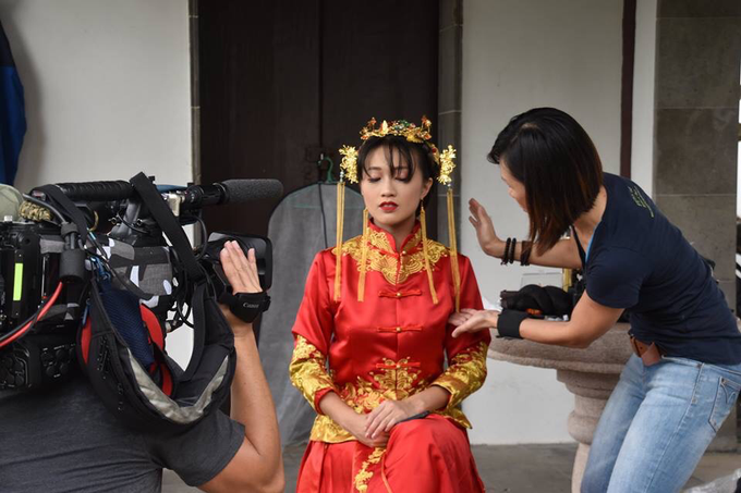 Qun Kua Film by Mediacorp by Stephy Ng Makeup and Hair - 001