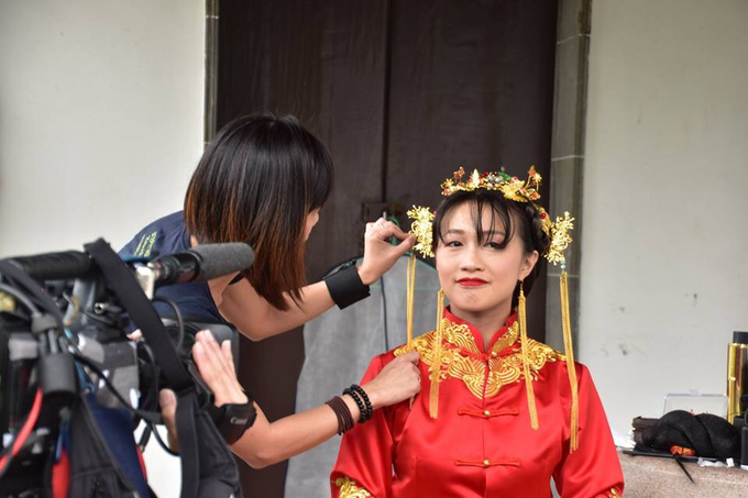 Qun Kua Film by Mediacorp by Stephy Ng Makeup and Hair - 002
