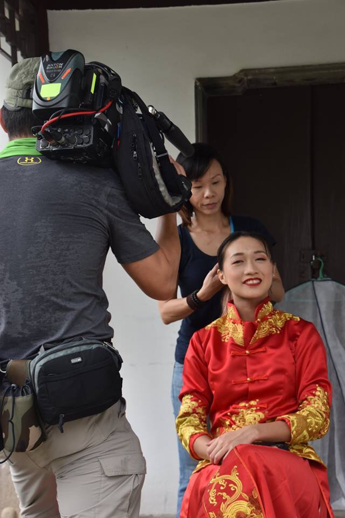 Qun Kua Film by Mediacorp by Stephy Ng Makeup and Hair - 011