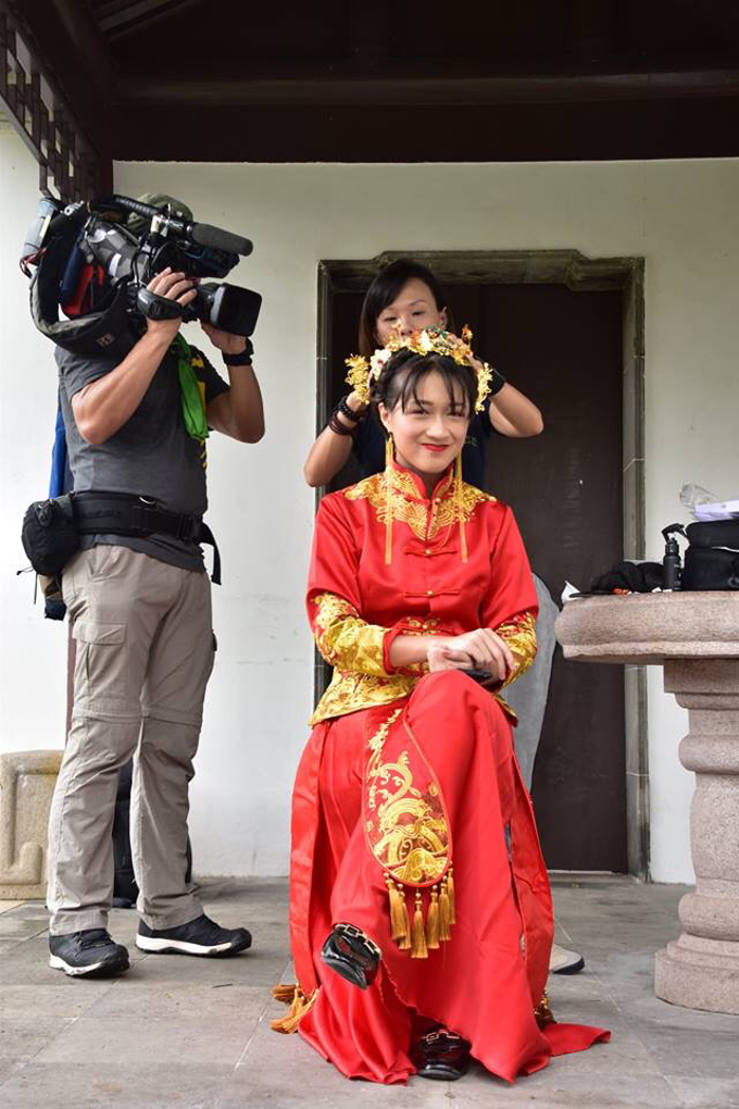 Qun Kua Film by Mediacorp by Stephy Ng Makeup and Hair - 003