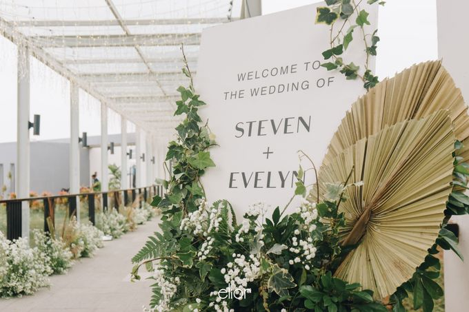 The Wedding of Steven & Evelyn by Elior Design - 003