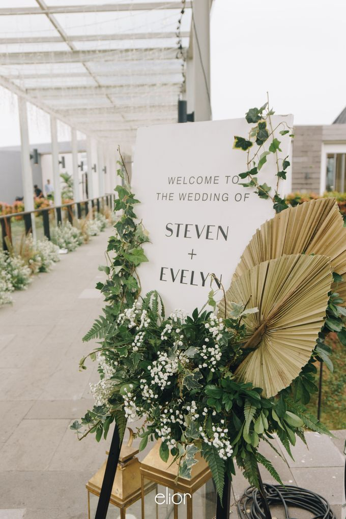 The Wedding of Steven & Evelyn by Elior Design - 004
