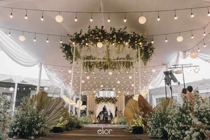 The Wedding of Steven & Evelyn by Elior Design - 006