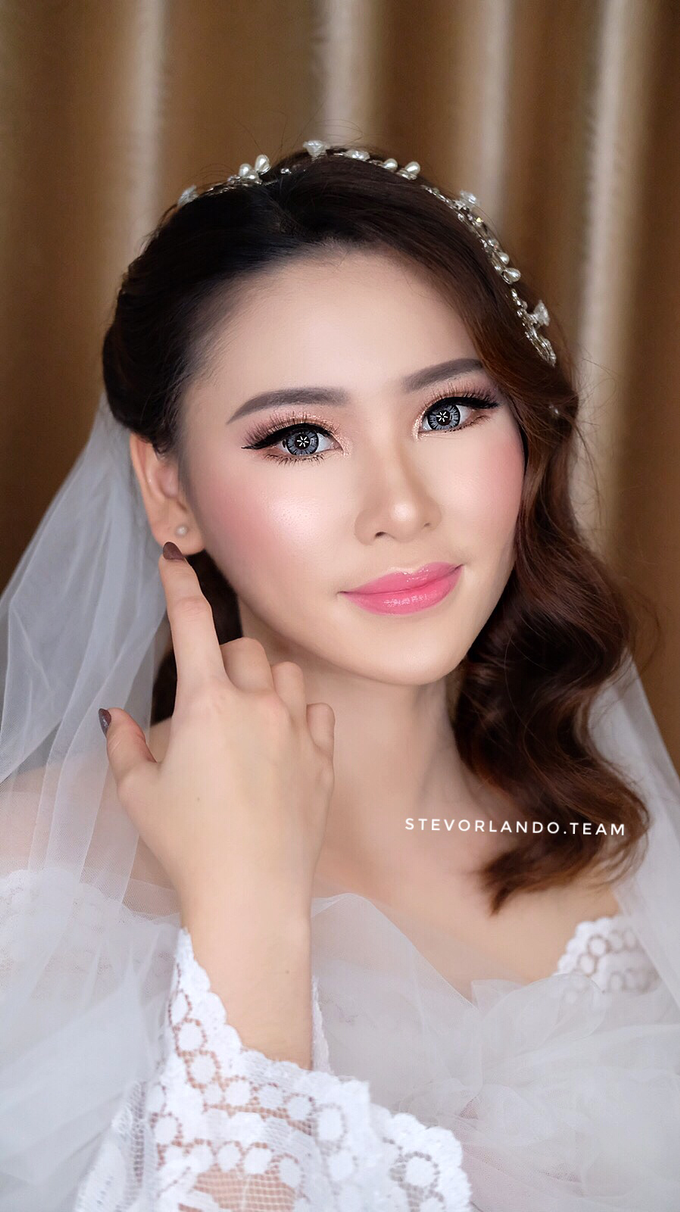 Soft Glow Wedding Makeup Looks by Stevanie Orlando by StevOrlando.makeup - 002