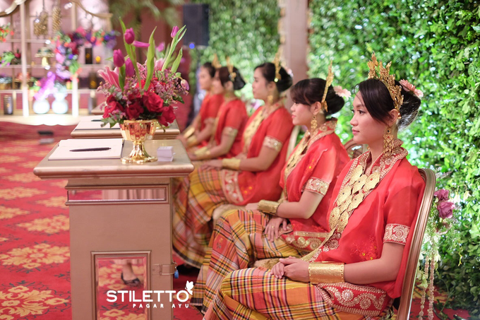 Traditional wedding / wedding adat part II by STILETTO PAGAR AYU - 012