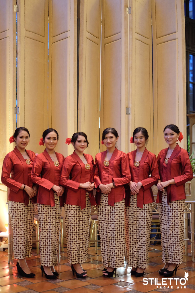 Traditional wedding / wedding adat by STILETTO PAGAR AYU - 016
