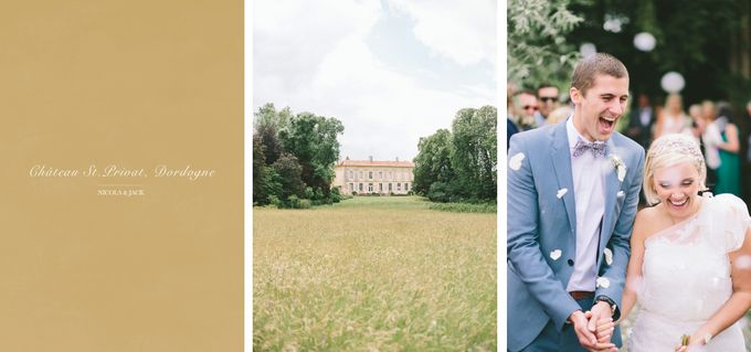 Romantic Chateau wedding in Dordogne, France by M&J Photography - 001