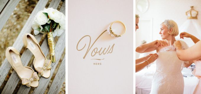Romantic Chateau wedding in Dordogne, France by M&J Photography - 002