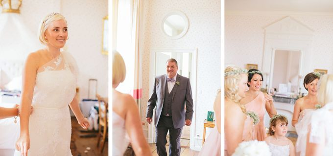 Romantic Chateau wedding in Dordogne, France by M&J Photography - 003