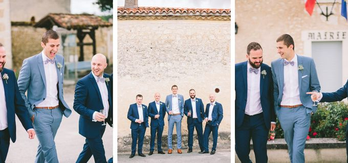 Romantic Chateau wedding in Dordogne, France by M&J Photography - 004