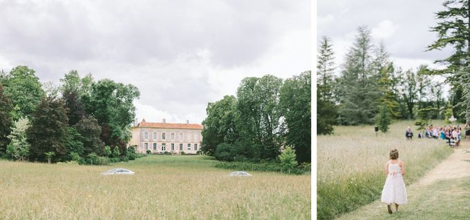 Romantic Chateau wedding in Dordogne, France by M&J Photography - 005