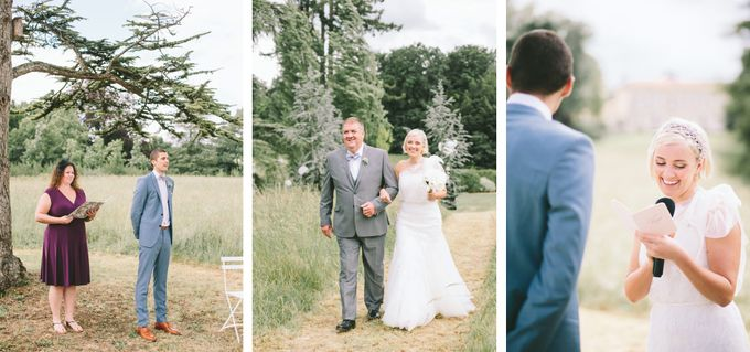 Romantic Chateau wedding in Dordogne, France by M&J Photography - 006