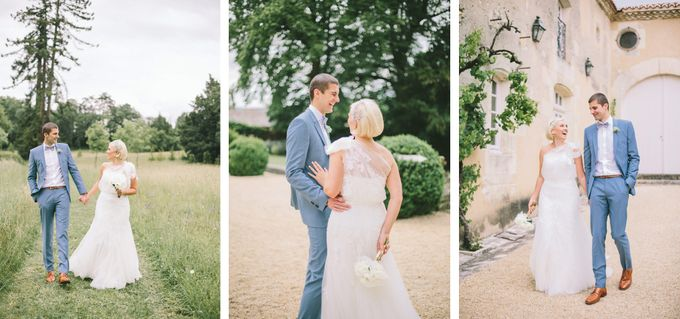 Romantic Chateau wedding in Dordogne, France by M&J Photography - 008