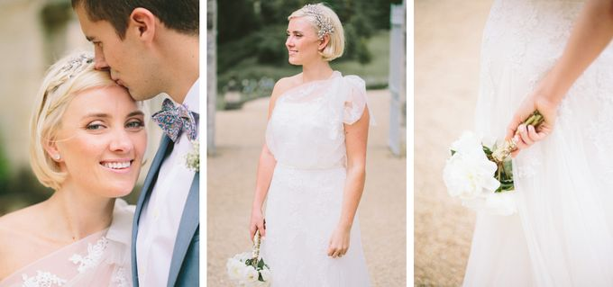 Romantic Chateau wedding in Dordogne, France by M&J Photography - 009