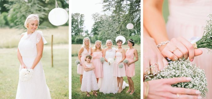 Romantic Chateau wedding in Dordogne, France by M&J Photography - 011