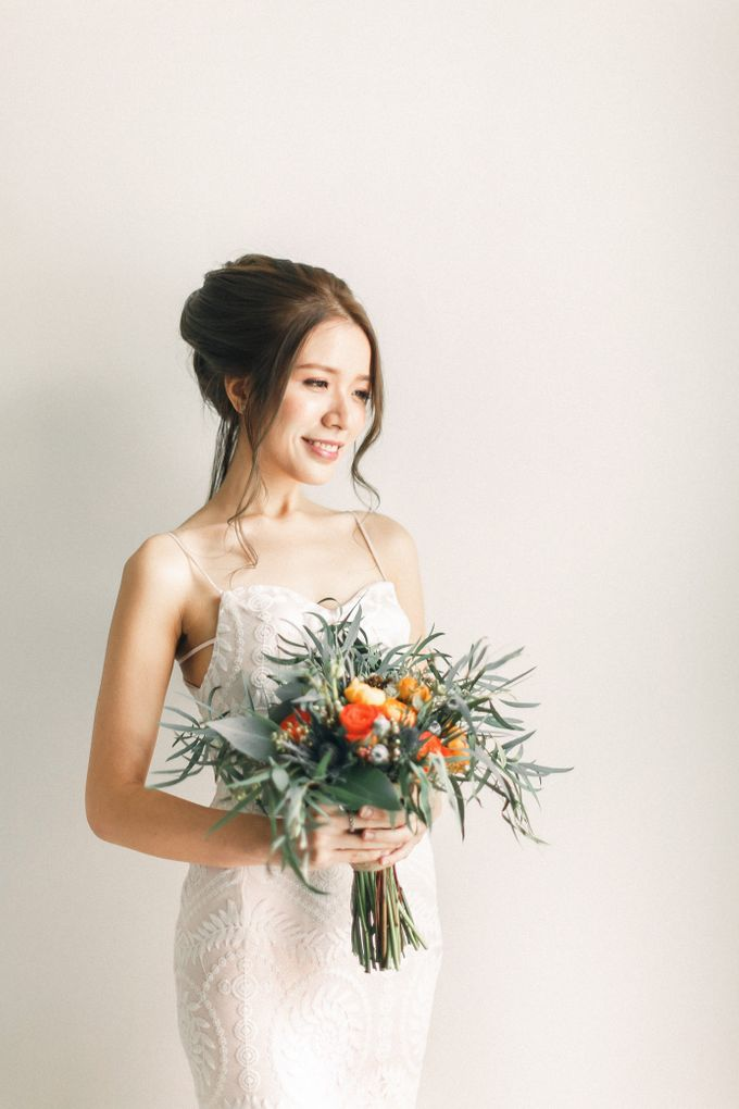 Your real bride in my album by rynee tan make up studio - 001