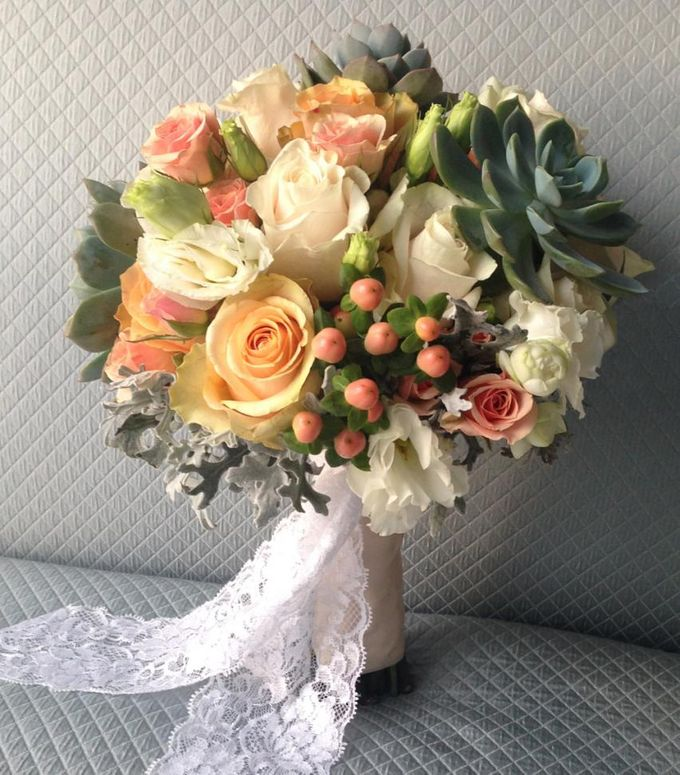 Wedding Bouquet by Twigs and Twine - 003