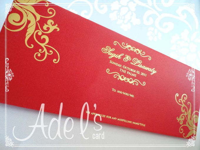 Hard Cover by Adel's House of card - 025