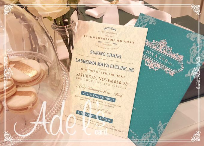 Hard Cover by Adel's House of card - 045