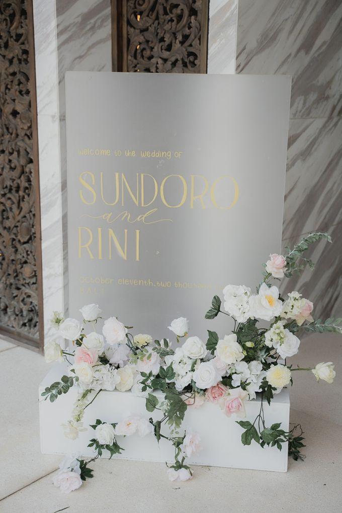 Sundoro and Rini Wedding by The Apurva Kempinski Bali - 006