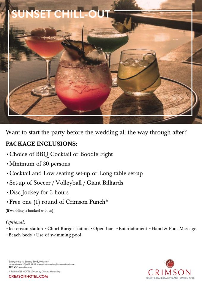 Crimson Boracay Weddings by Crimson Resort & Spa Boracay - 003