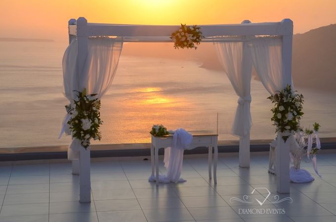 Santorini wedding by Diamond Events - 008