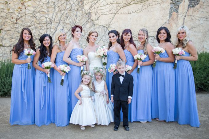 Elegant Wedding at Sunstone winery and vineyard in Santa Barbara wine region by Kiel Rucker Photography - 018