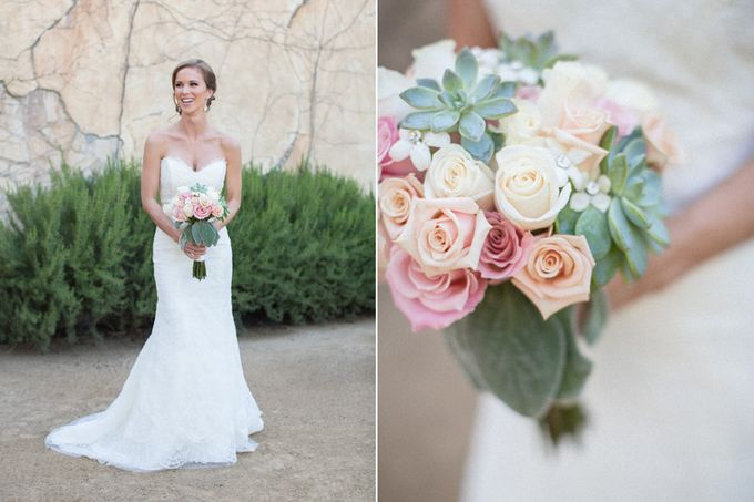 Elegant Wedding at Sunstone winery and vineyard in Santa Barbara wine region by Kiel Rucker Photography - 023