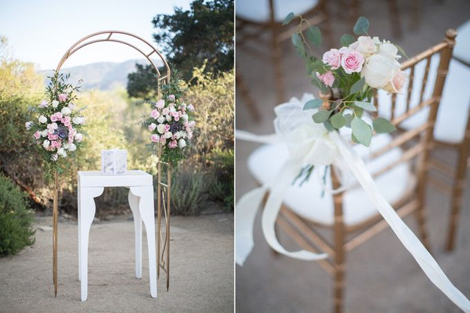 Elegant Wedding at Sunstone winery and vineyard in Santa Barbara wine region by Kiel Rucker Photography - 031