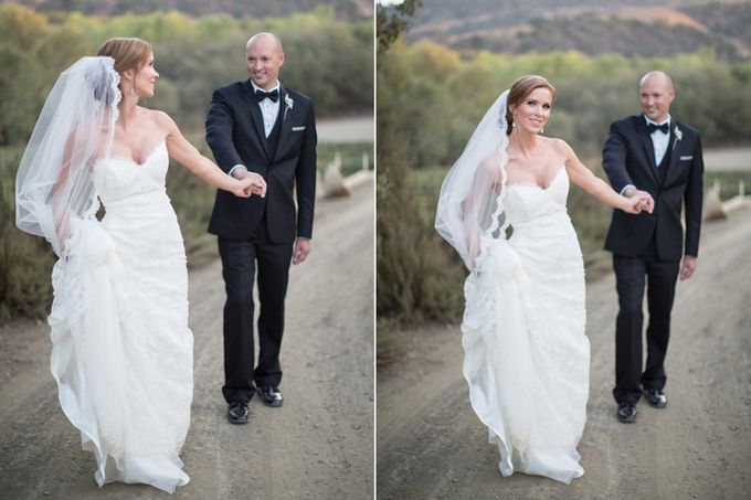 Elegant Wedding at Sunstone winery and vineyard in Santa Barbara wine region by Kiel Rucker Photography - 043